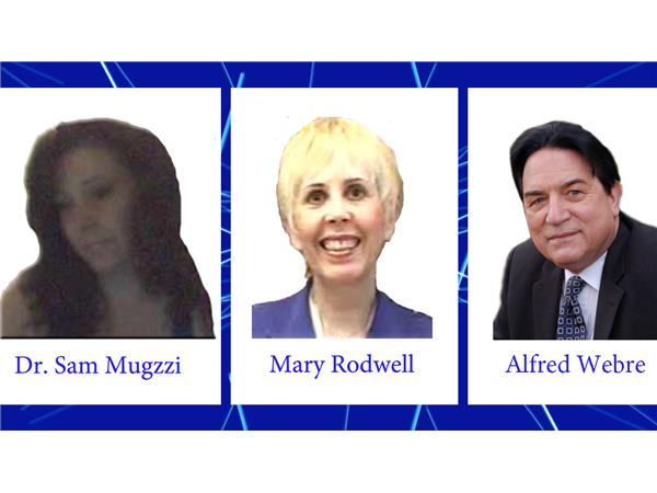 dr  sam mugzzi with alfred webre and mary rodwell  aired