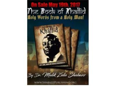 The Book Of Khallid With Dr Malik Zulu Shabazz 04 10 By