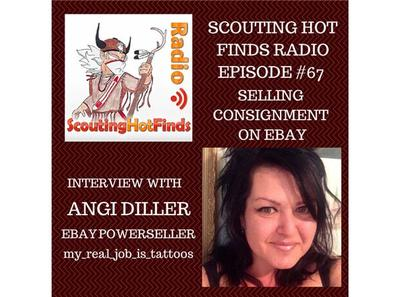 Shf Radio 67 Selling Consignment On Ebay Interview W Powerseller Angi Diller 09 25 By Santeeswapper Hobbies