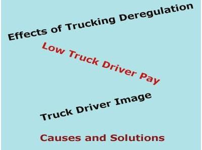 Low Truck Driver Pay: Causes and Solutions 03/14 by Aubrey