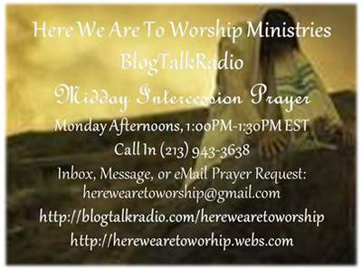 Speical Midday Intercession Prayer 05/27 by