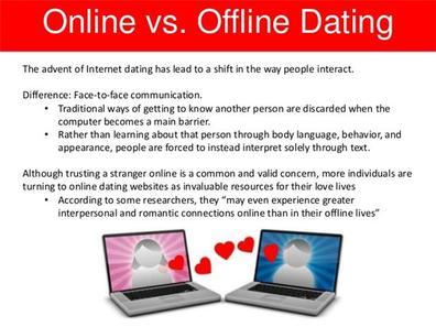 cons till online dating