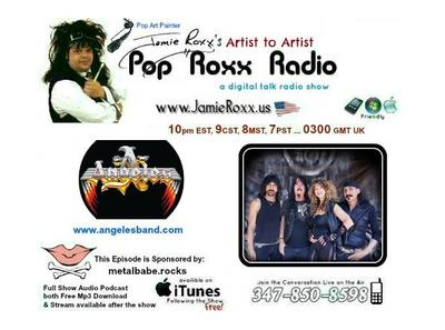 Angeles    Rock and Roll 07/27 by Jamie Roxx s Pop Roxx Radio | Rock