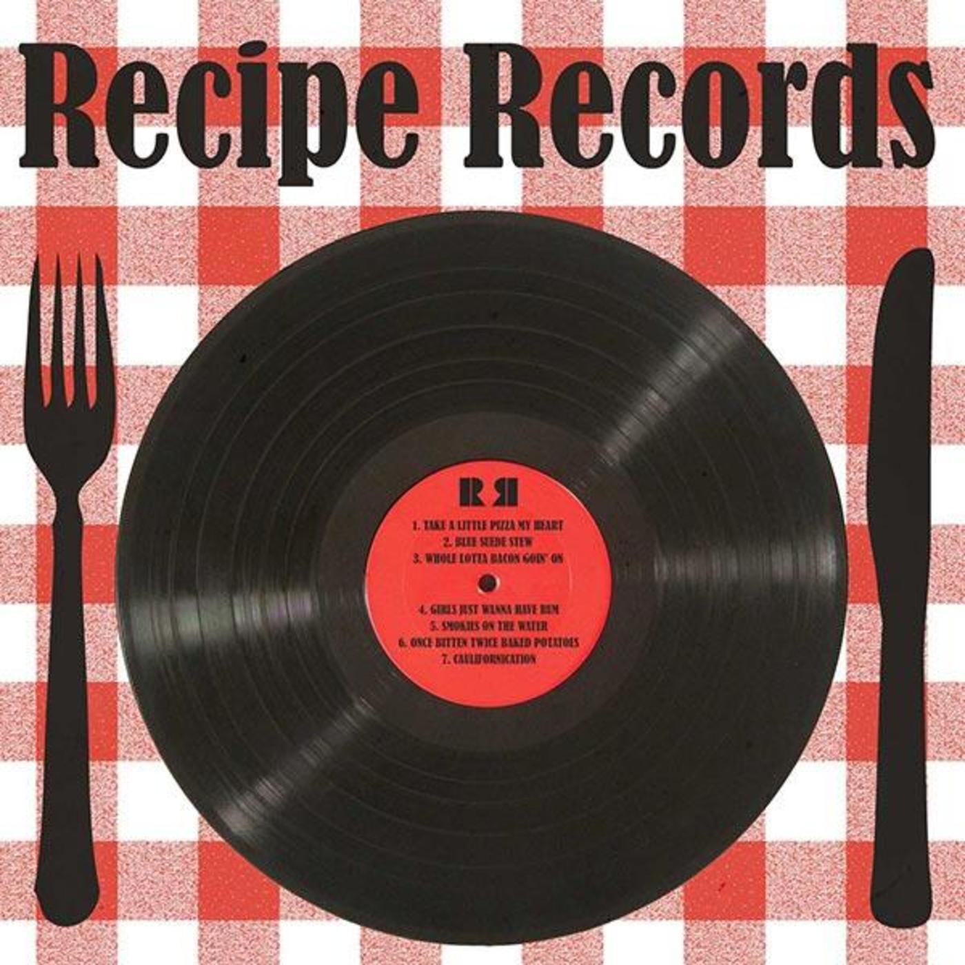 Recipe Records Cookbook