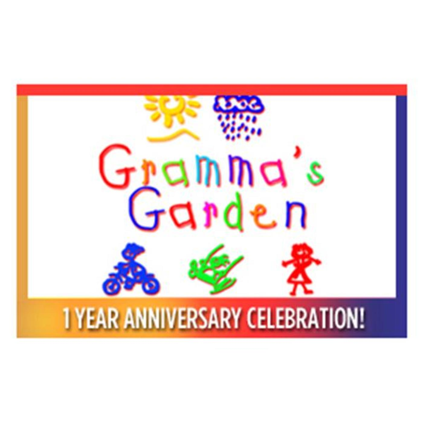 Welcome To Gramma's Garden Party Where Nobody Is EVER Told To Sit Down, Shut Up, & Pay Attention!