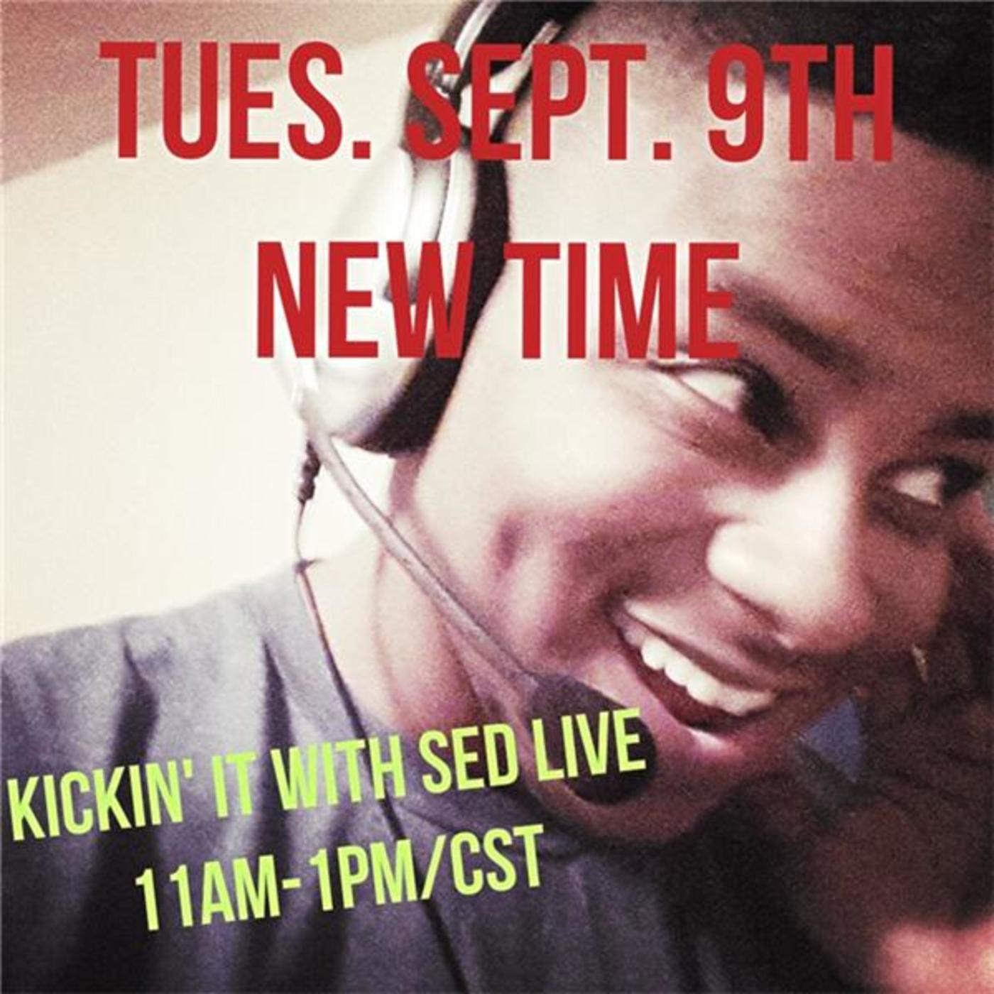 Kickin' it with Sed LIVE