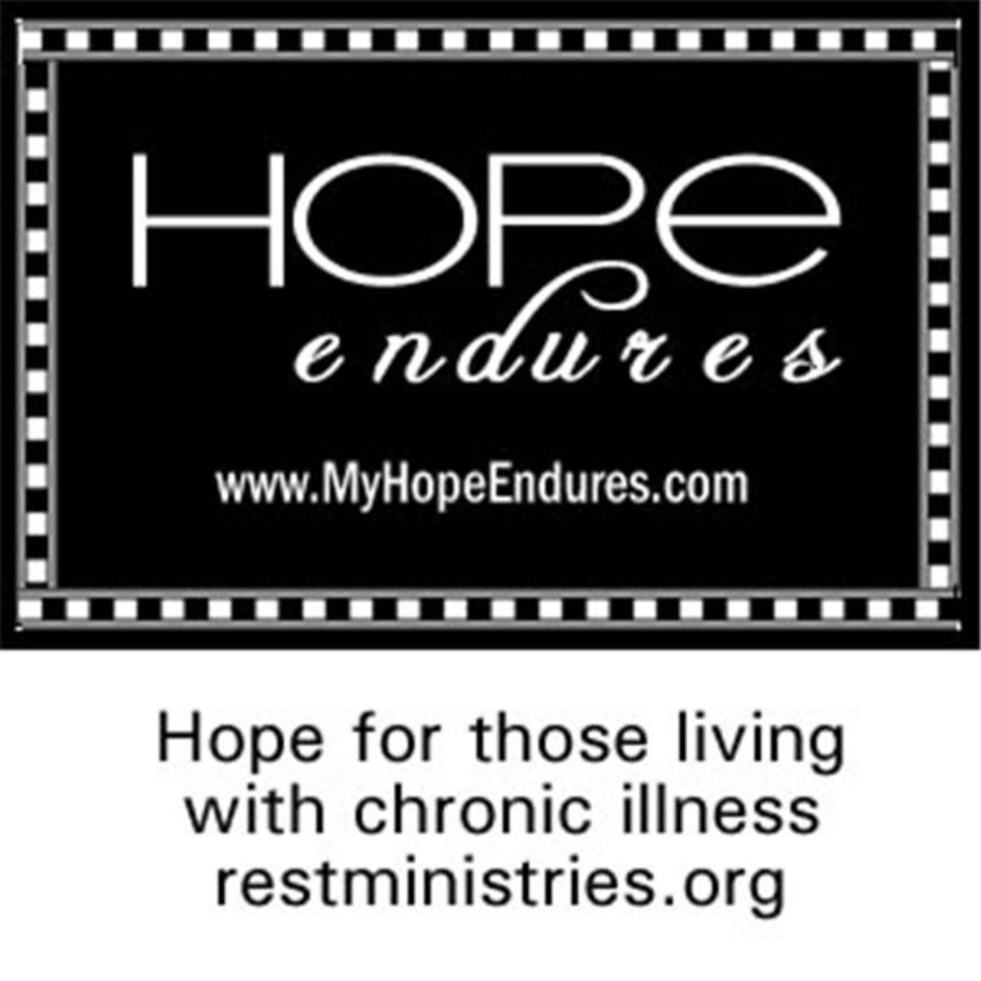 Hope Endures for Those with Illness