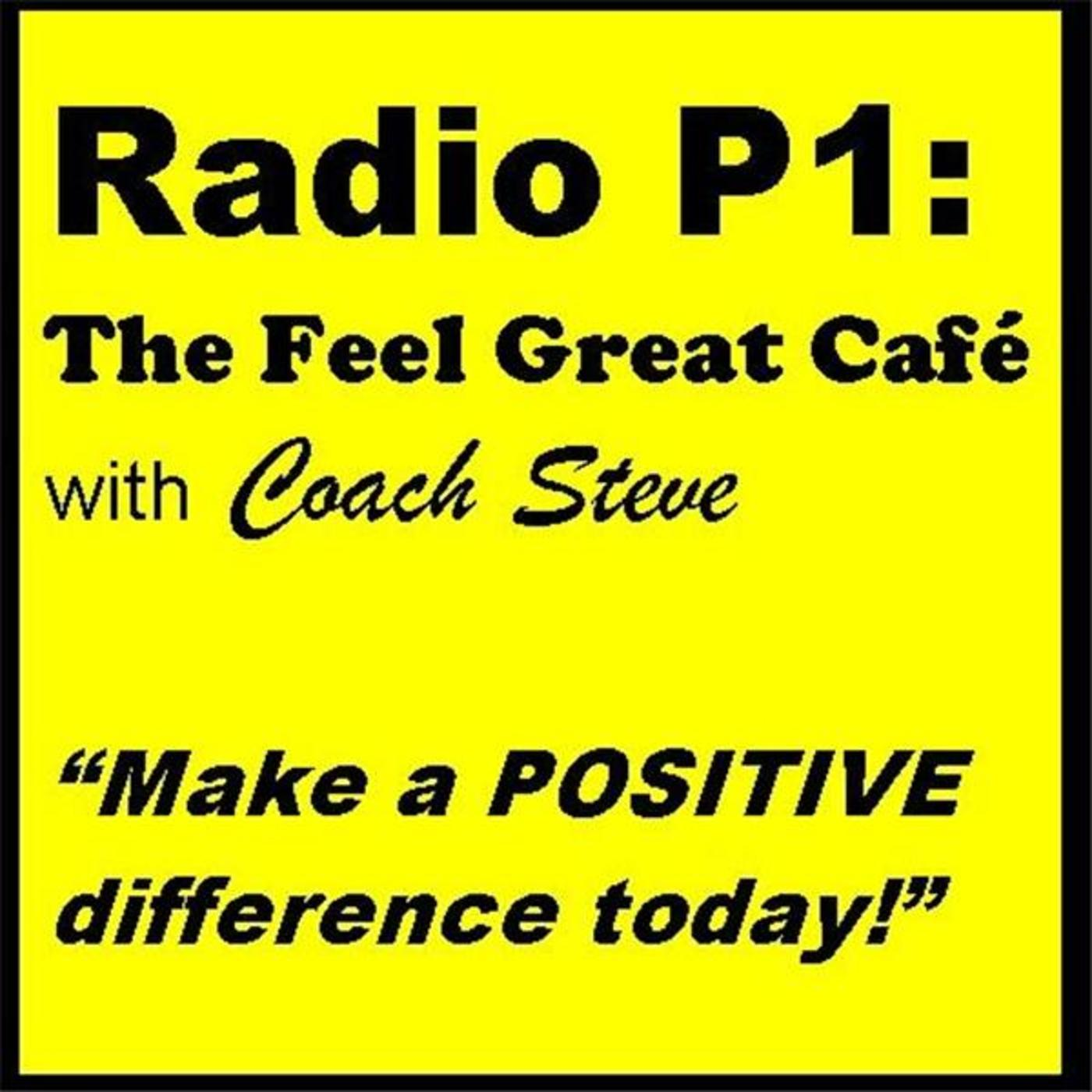 Radio P1: The Feel Great Cafe