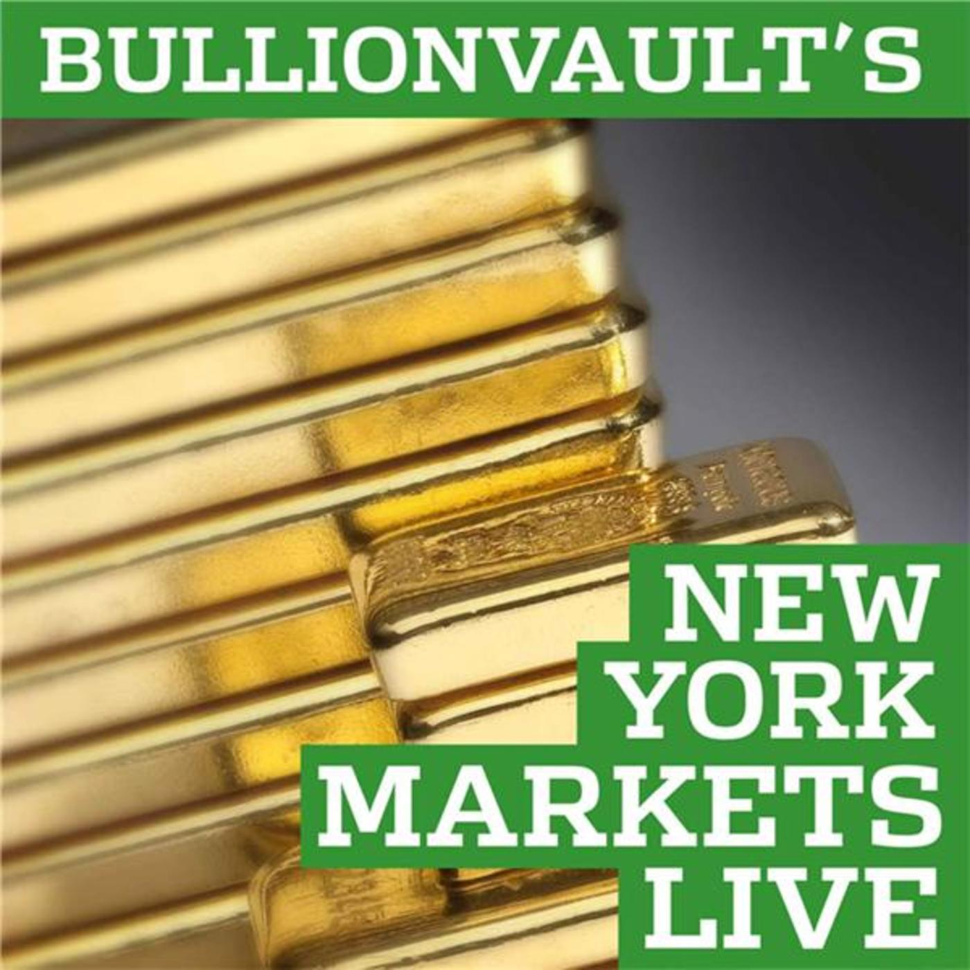 BullionVault's New York Markets Live