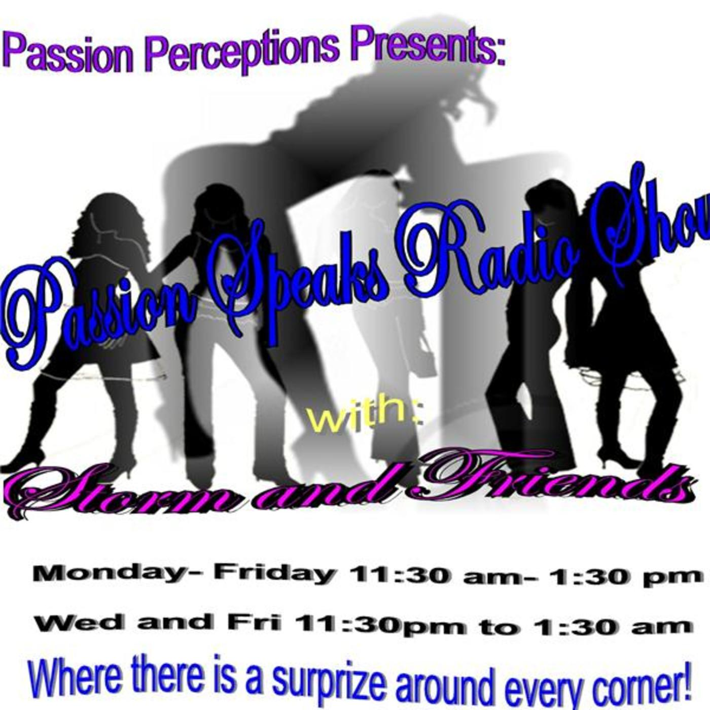 Passion Speaks Radio Show