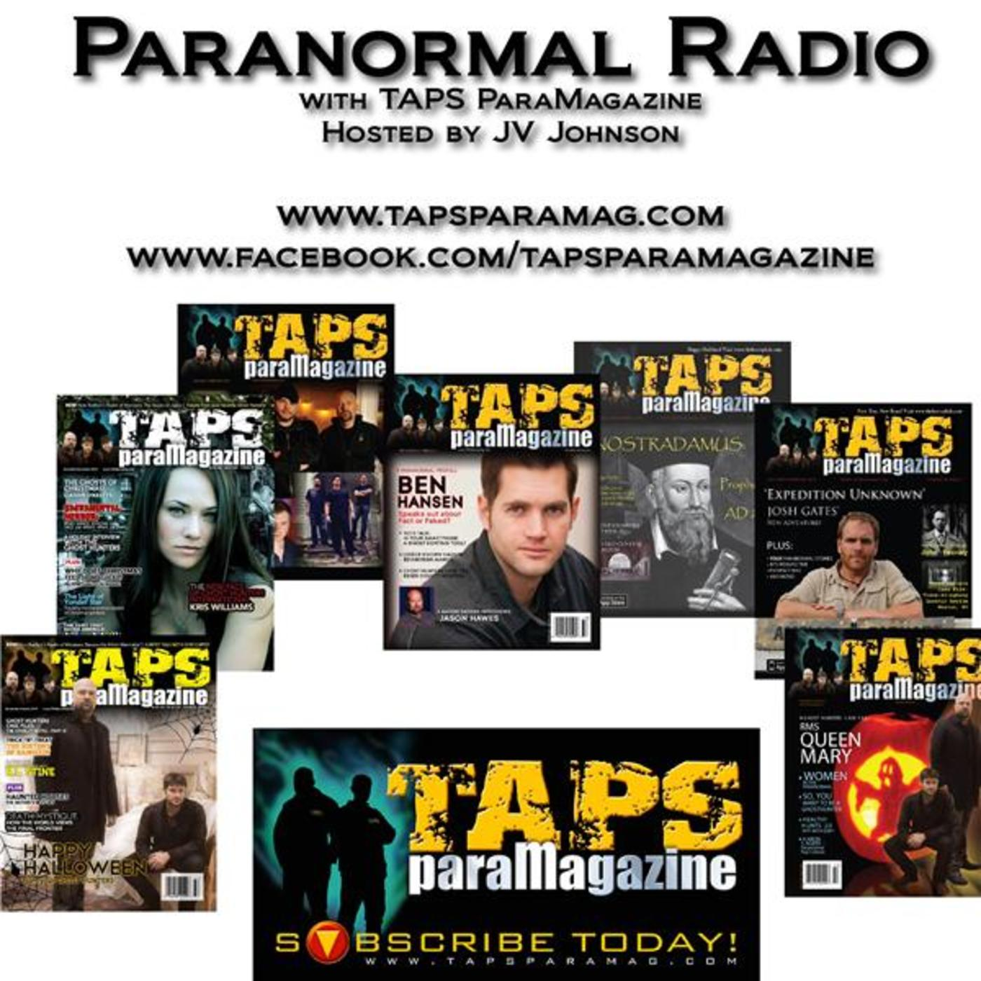 Paranormal Radio with TAPS ParaMagazine