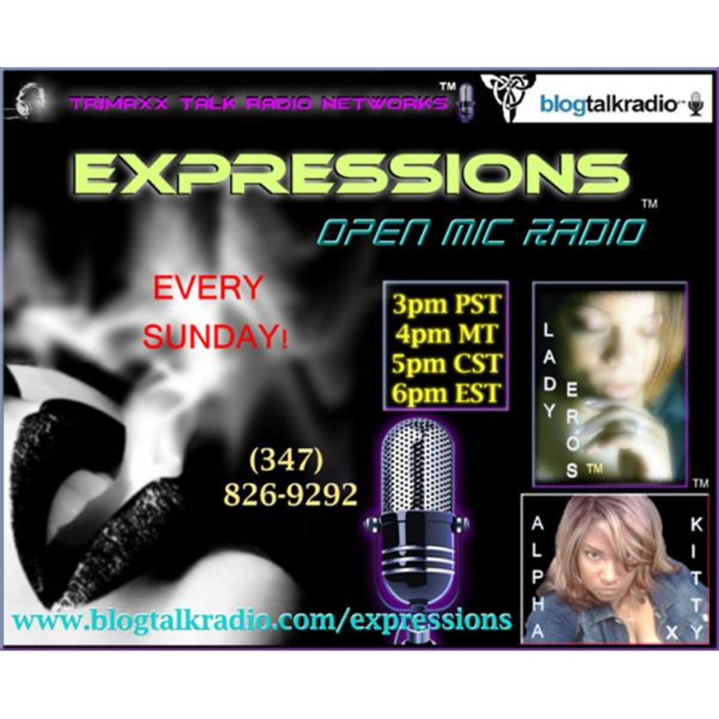 TTR NETWORKS - EXPRESSIONS OPEN MIC RADIO!