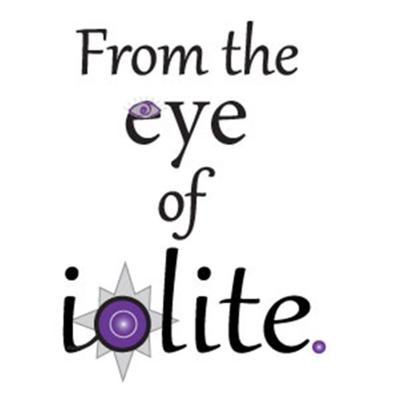 From the eye of iolite