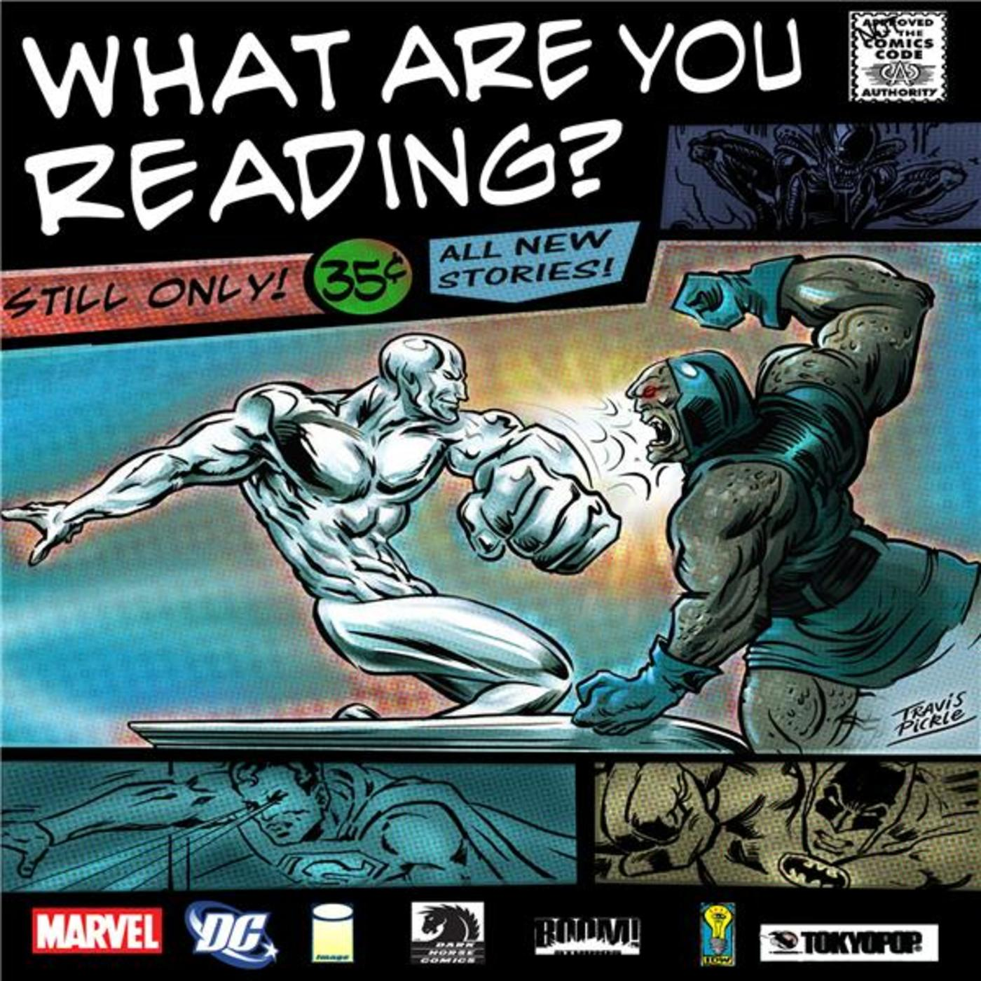 what are you reading comic book show