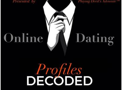 online dating profile decoded