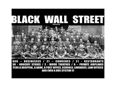 Do You Think Black Wall Street Would Work Today? 02/15 By Its Real Talk  Radio | History Podcasts