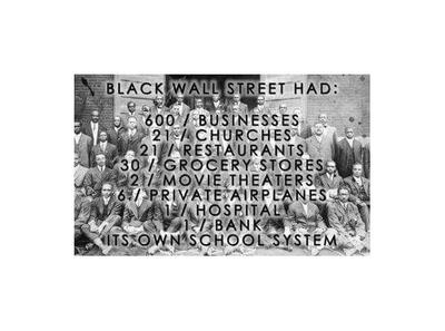 Black Wall Street Movie the community on our history & heritage presents: resurrecting