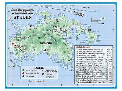 The US Virgin Islands Of The Four Which Is Your Favorite And - St thomas maps us virgin islands