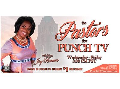 The Pastors for Punch TV with host Joy Brown Pastor Stephanie L Maxwell-Robles